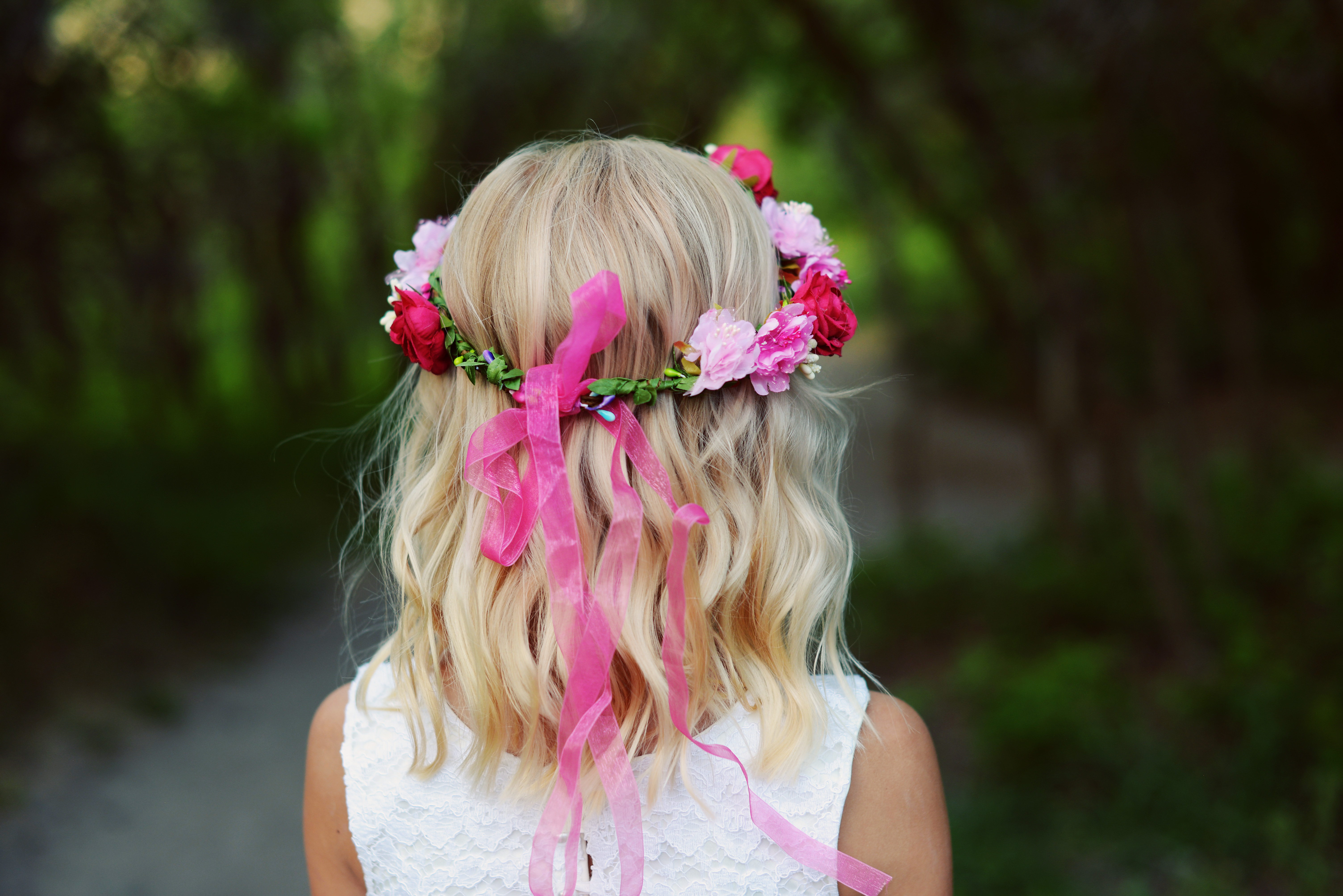 See Our Range Of Flower Girl Hair Accessories To Match The