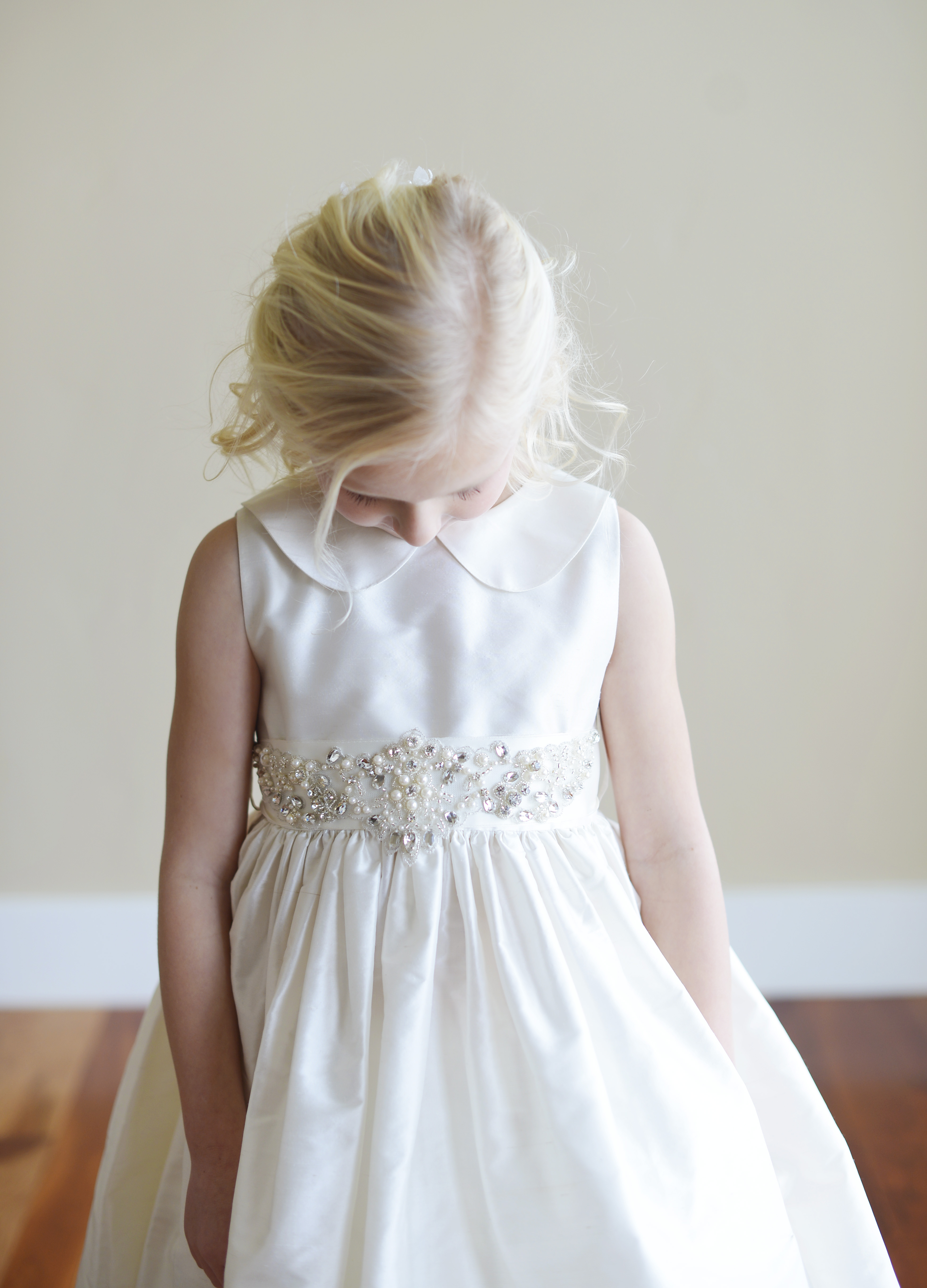 224a384df2 A beautiful handmade range of flower girl dresses with Peter Pan ...