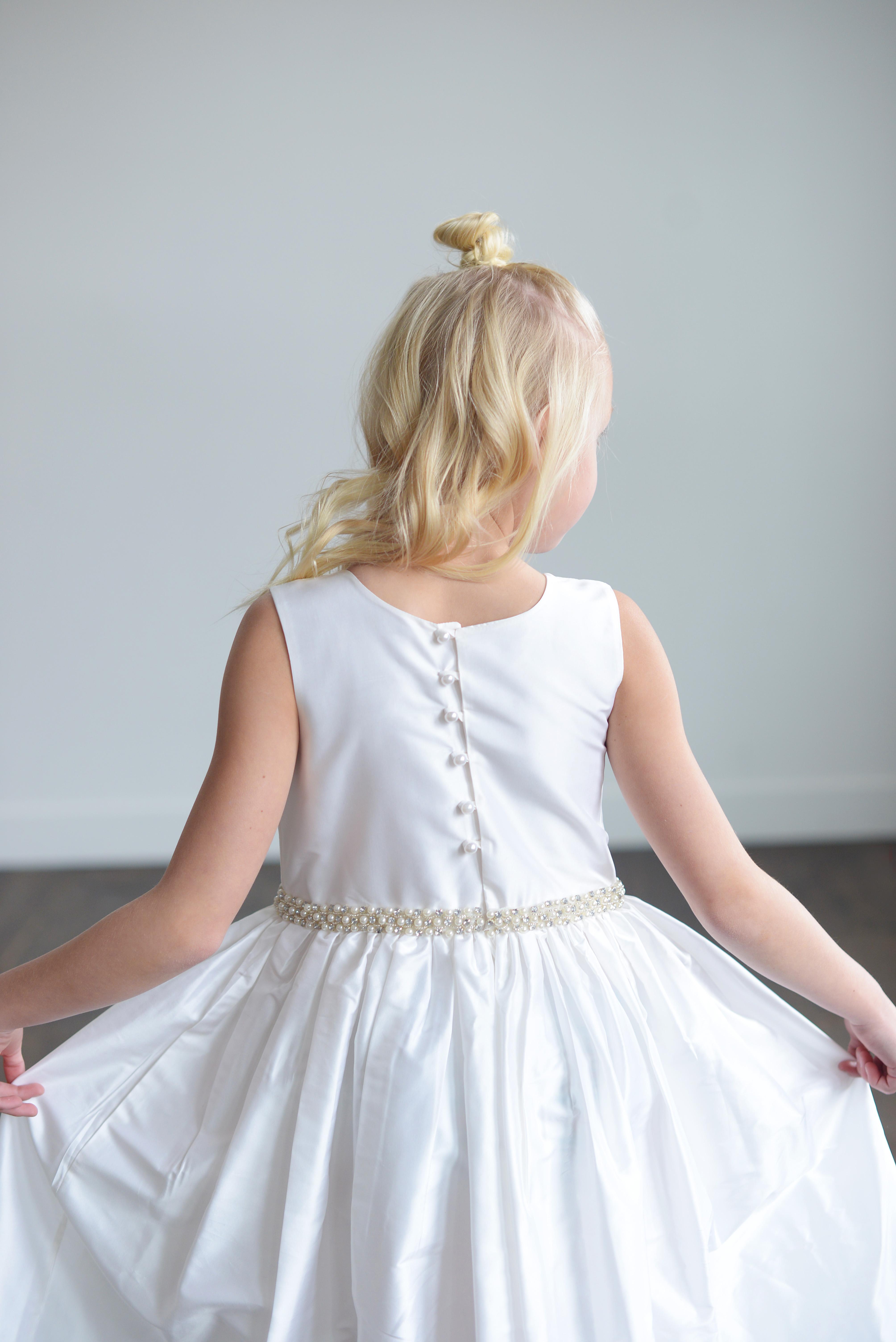805b7cc7e60 See our bespoke handmade flower girl dresses and beautiful communion ...