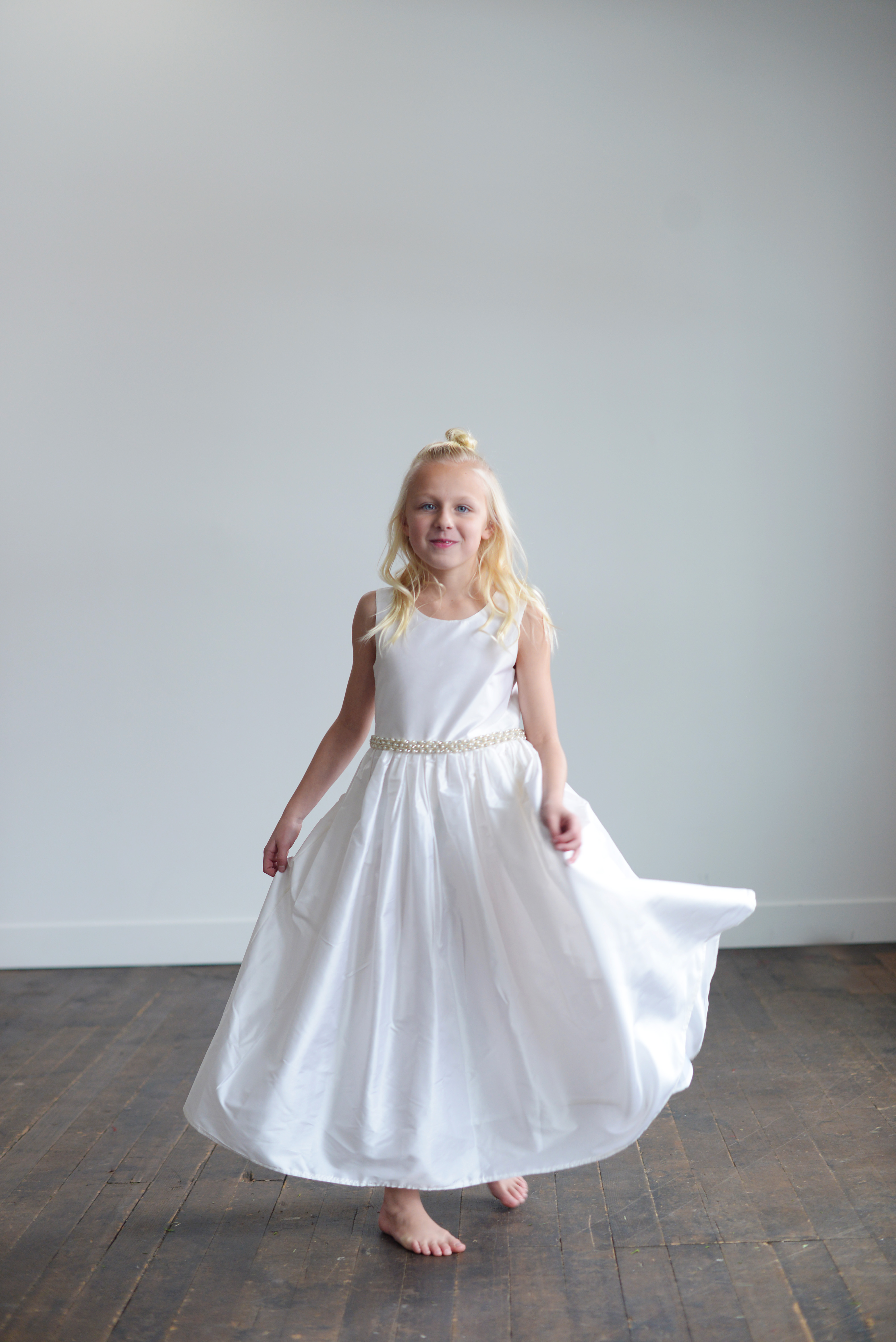 Handmade And Bespoke Flower Girl Dresses And Communion Dresses Made
