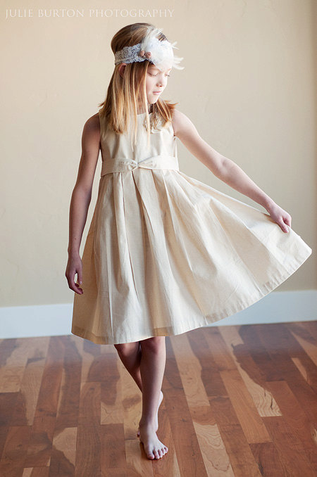 simple cotton flower girl dresses | Gommap Blog