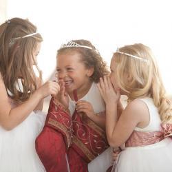 ivory flower girl dresses, tulle flower girl dresses,white flower girl dresses