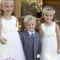Ivory flower girl dresses, white flower girl dresses
