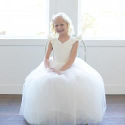 pouffy skirt flower girl dresses, big flower girl dresses, flower girl dresses