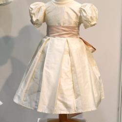Silk Flower Girl dress