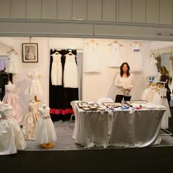 Gilly Gray stand at UK wedding show