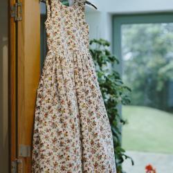 pink floral print flower girl dresses, floral flower print dresses