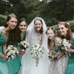 Floral print flower print dresses, liberty print flower girl dresses,