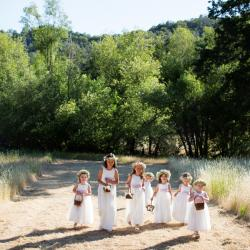 ivory lace flower girl dresses, dusky pink flower girl dresses