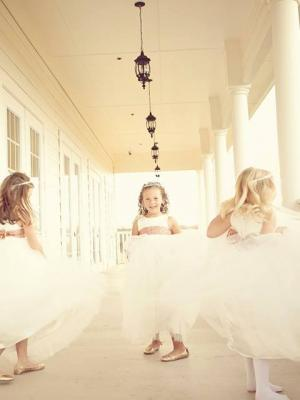 The Ballerina Flower Girl Dresses