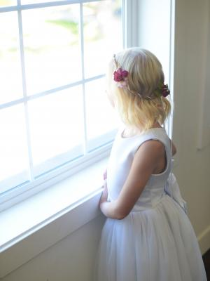 wedding hair wreath, flower girl head wreath, flower girl crown