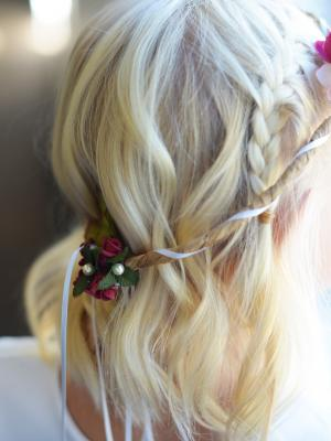 flower girl hair accessories, floral hair wreath, hair wreath, floral head band