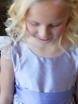 flower girl dress with wide belt, flower girl dress with sash uk