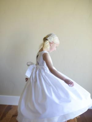 white cotton bridesmaid dress, flower girl dress for toddlers, flower girl dress