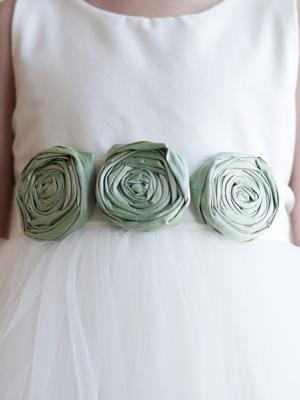ivory flower girl dress, sage green flower girl dress, flower girl dress