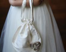flower girl bag