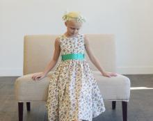 floral print flower girl dresses unusual flower girl dresses