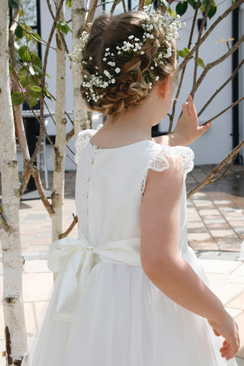 Affordable Luxury Handmade Flower Girl Dresses And Accessories