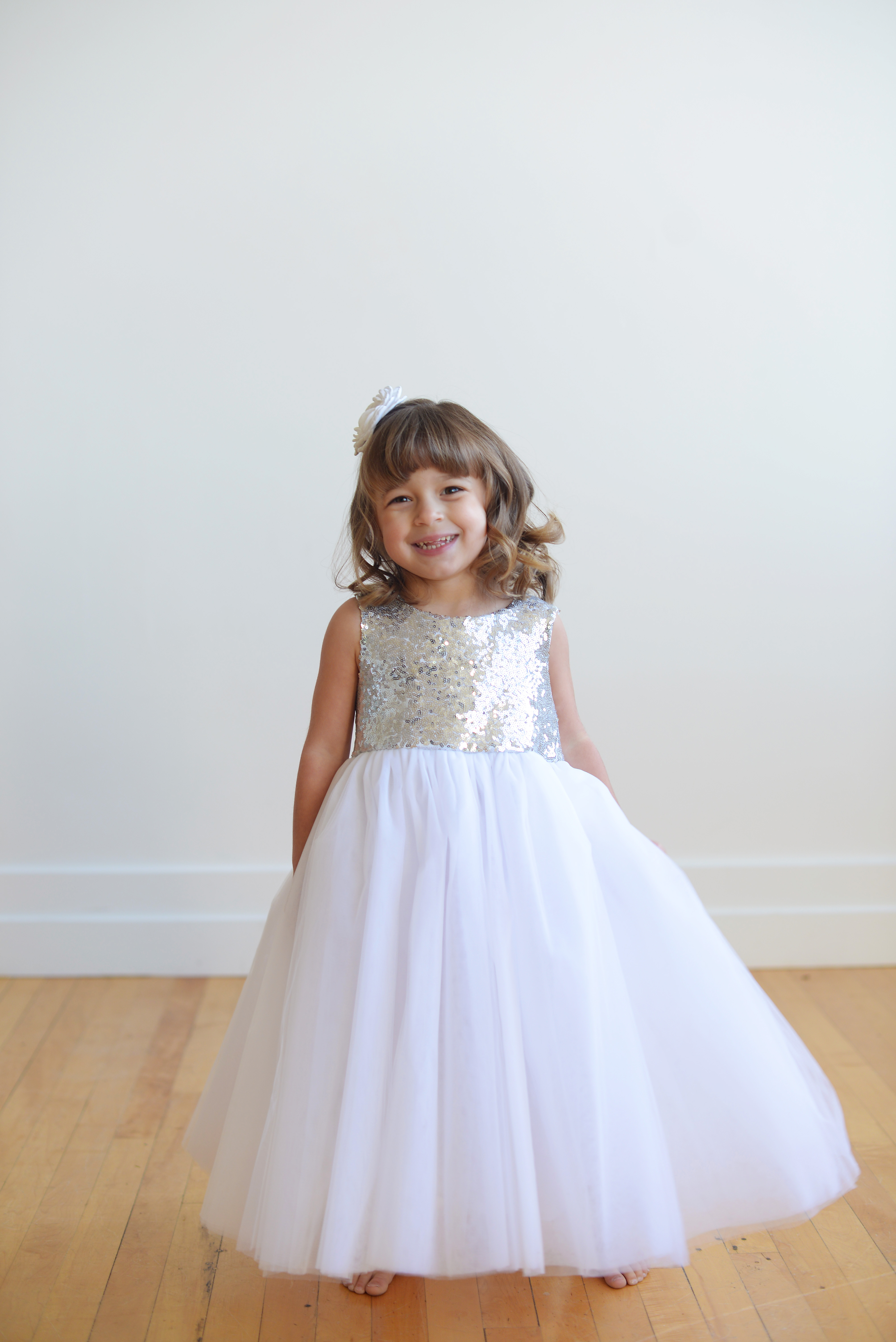 See Our Range Of Sequinsilk And Tulle Flower Girl Dresses And First