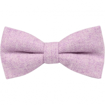 lilac wool bow tie for pageboys and grooms men
